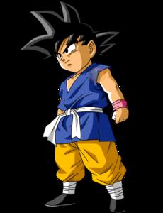 Goku gt kid  facudibuja by facudibuja dazzz7c